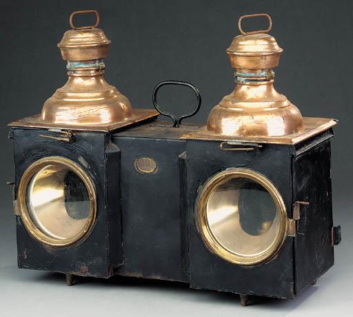 E.S.T. Double oil signal lamps