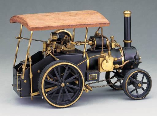 A brass model gas-fired single