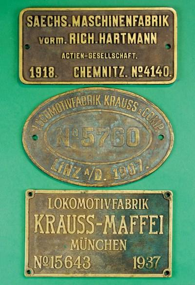 A Locomotivfabrik Krauss & Com
