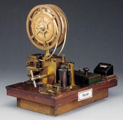 A 19th-Century railway telegra