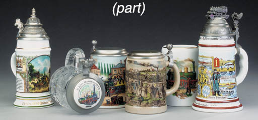A collection of commemorative