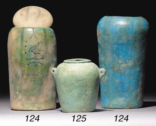 AN EGYPTIAN BLUE-GLAZED COMPOS