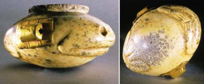 AN EGYPTIAN PREDYNASTIC MOTTLE