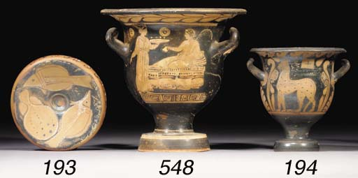 A CAMPANIAN RED-FIGURE BELL-KR