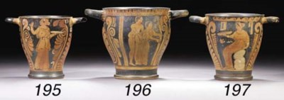 A CAMPANIAN RED-FIGURE SKYPHOS