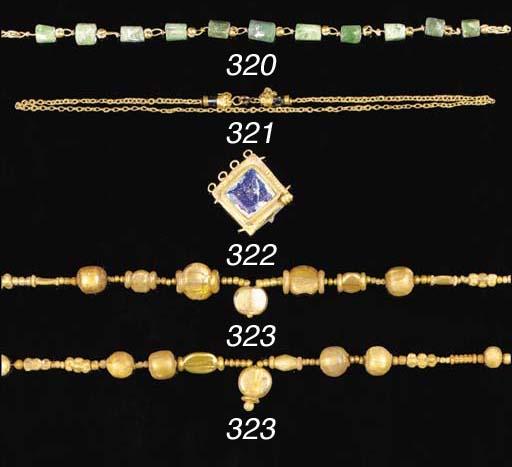 FOUR MAINLY GRAECO-ROMAN GOLD