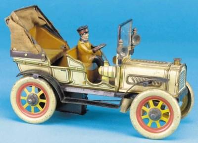 Fischer clockwork Motor Car