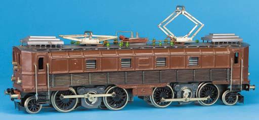 A Biaggi three rail electric Gothard Bahn 2' B B 2' Electric Locomotive
