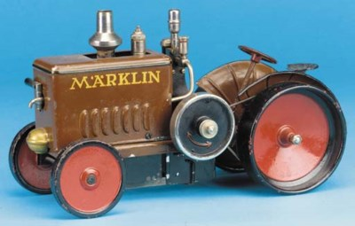 A  Märklin steam-powered Field