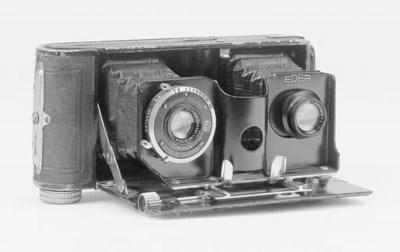 Eder patent twin lens camera n