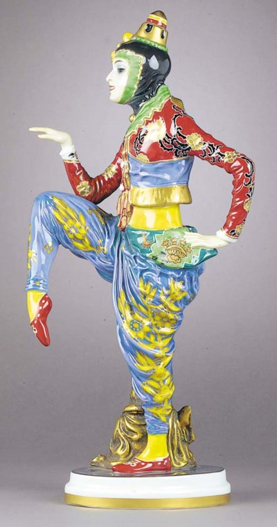 A Rosenthal porcelain figure o