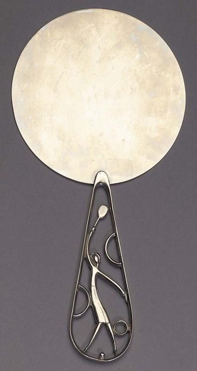 A Hagenauer silvered metal han