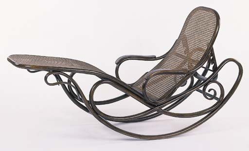 THONET ROCKING CHAISE NO.7500
