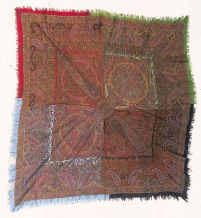 An embroidered amli Four Seaso