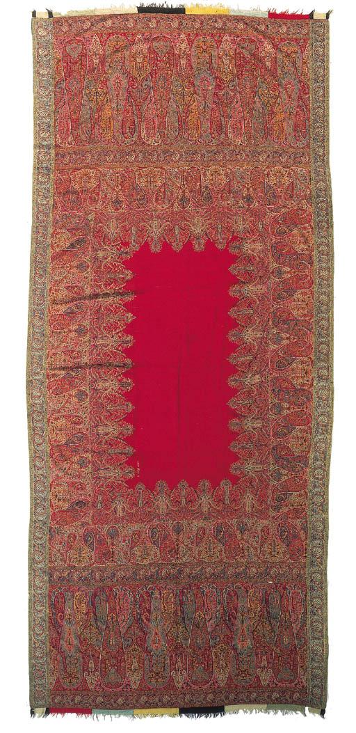 A long jamawar shawl,