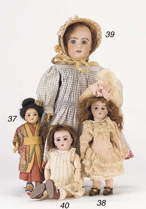 A Jumeau child doll