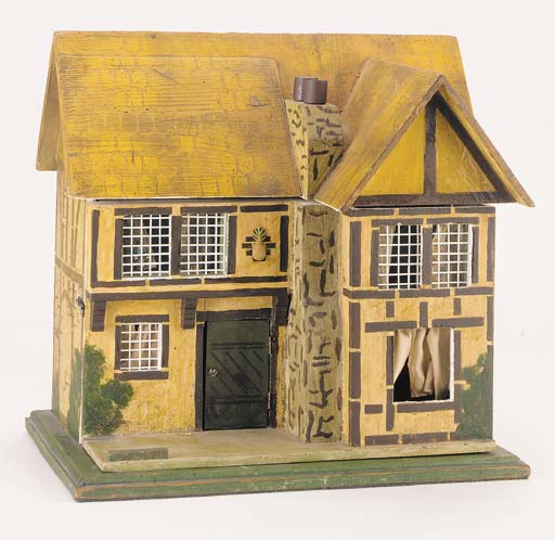 A Wagner wooden dolls' house