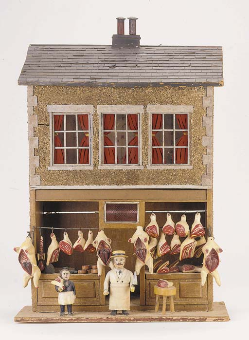 A butcher's shop
