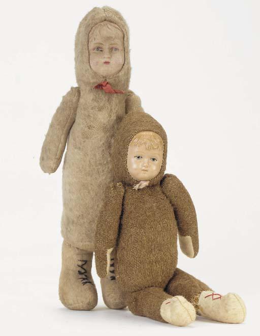 A German Polar explorer doll