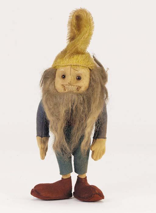 A Steiff 'Puck' Gnome