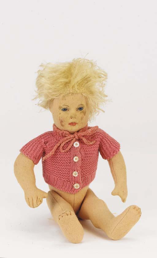 A rare Steiff doll