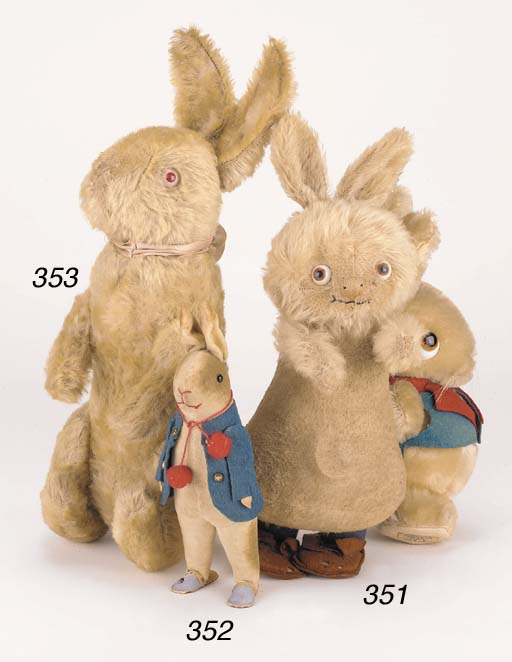 A Steiff 'Holland' rabbit