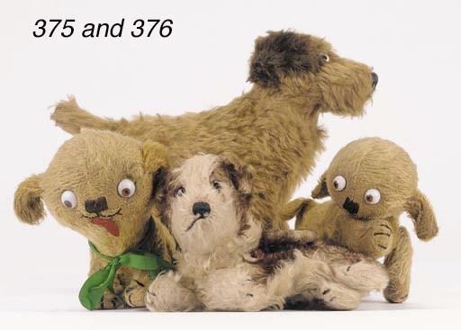 A rare Steiff Molly dog purse