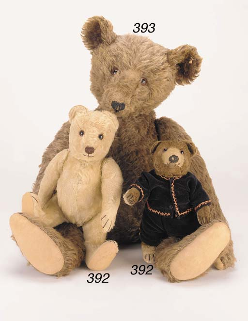 A Steiff teddy bear