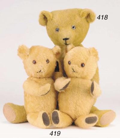 Two Pedigree teddy bear