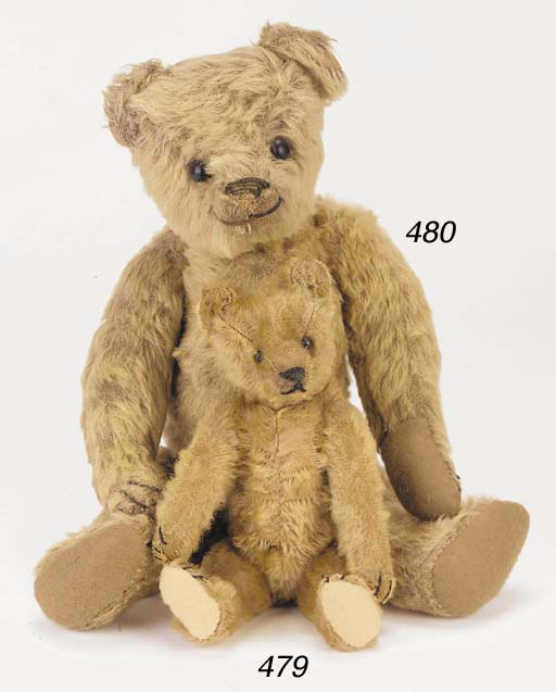 'Olive', a Bing teddy bear