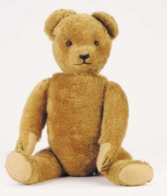 'Norman', a German teddy bear