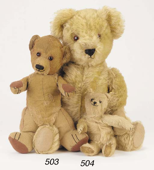 'Mister E', a British teddy be
