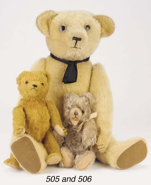 'Pierre', a French teddy bear