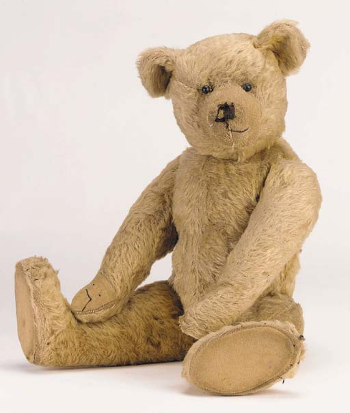 A Farnell teddy bear