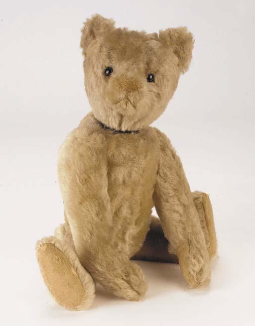 A rare Bing clockwork teddy be