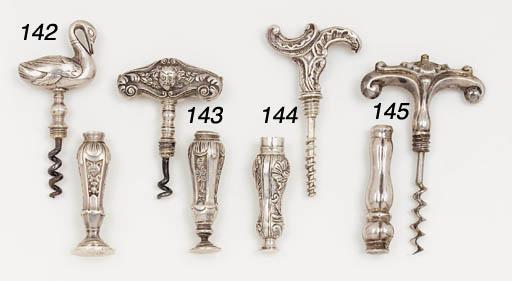 A Dutch pocket corkscrew,