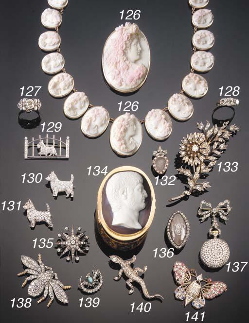 A 19TH CENTURY ROSE-CUT DIAMON