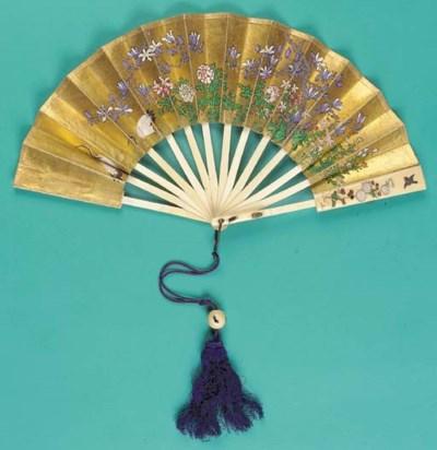 A rare Japanese telescopic fan