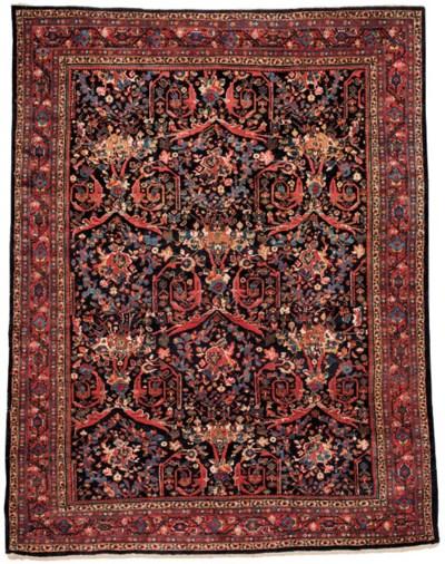 A fine Mahal carpet of Mustafi