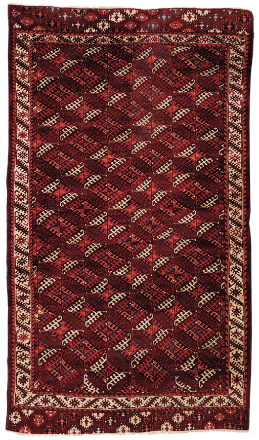 A fine antique Yomut carpet