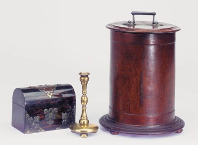 A bentwood cylindrical box, 19