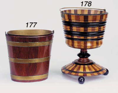A Dutch mahogany and brass bou