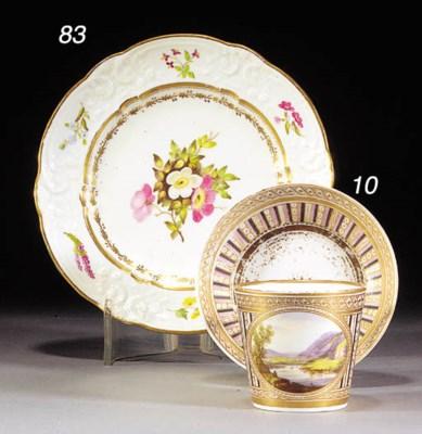 A Swansea shaped plate