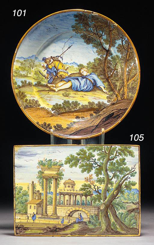 A Sienna (Terchi) plate
