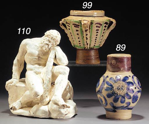 A Naples porcelain figure of H