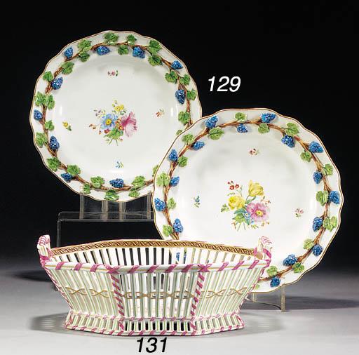 Two Vienna plates