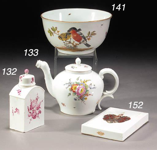A Fürstenberg rectangular tea