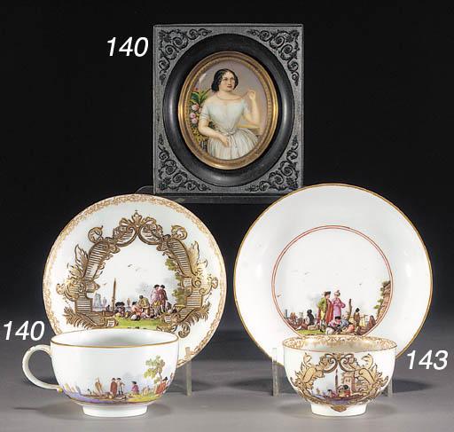 A Meissen (Marcolini) teacup a