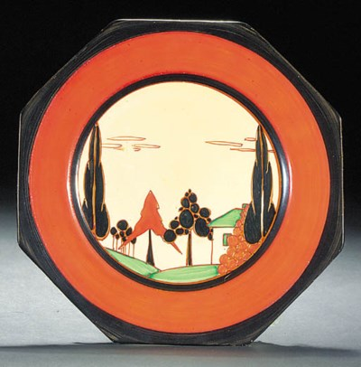 'Orange Trees and House'