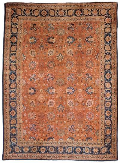 A Tabriz carpet of Shsh-Abbas